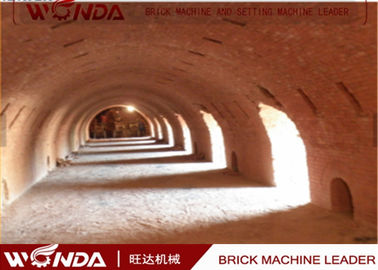 Hoffman Brick Tunnel Kiln, Red Brick Clay Making Kiln With Tunnel Dryer