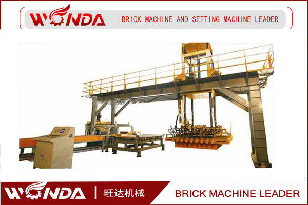 Clay Brick Setting Machine Fully Automatic ISO BIS Certificated For Tunnel Kiln