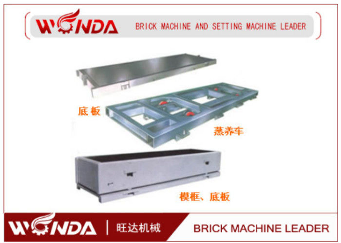 4M AAC Cement Concrete Brick Making Machines Mould Side Plate Steam Curing
